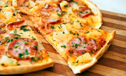$18 for $30 Worth of Pizza, Salad, and Sandwiches at Oblio's Pizzeria. Two Options Available.