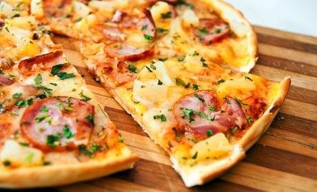 Pizza para 2 o 4 personas con entrante, postre y consumición desde 16,90 € o con botella de lambrusco desde 19,90 €