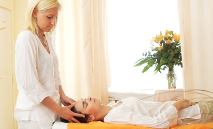 $40 for a 75-Minute Reflexology and Reiki Treatment at Natural Healing and Massage ($75 Value)