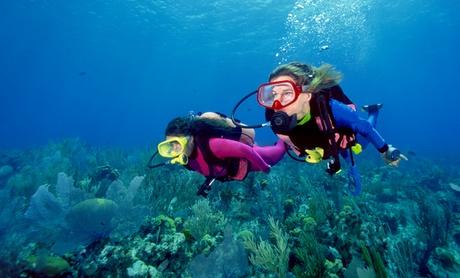 Bautismo de buceo para una o dos personas desde 29,90 € o curso Open Water Diver o Advanced Open Water desde 149 €