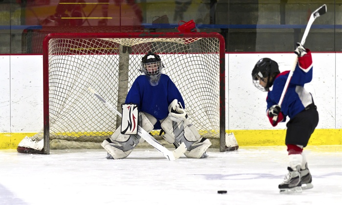 Lake Forest Ice Palace and Aliso Viejo Ice Palace - Multiple Locations: $159 for a 12-Week Learn-To-Play-Hockey Skating Program at Lake Forest Ice Palace and Aliso Viejo Ice Palace ($345 Value)