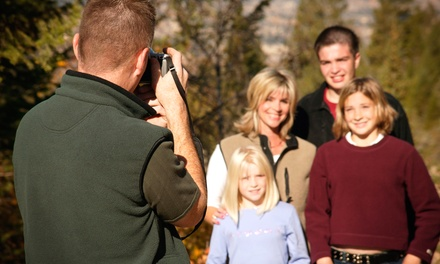 30-Minute Outdoor Photo Shoot with Digital Images from Blue Butterfly Photography (70% Off)