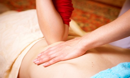 One 60-Minute Swedish or Deep-Tissue Massage Therapy at Massage Rx (Up to 58% Off)
