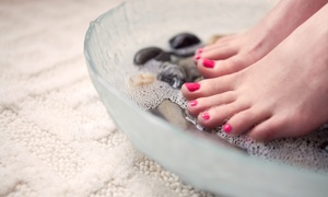 Catalaya Salon and Spa: Spa Pedicure and Massage with Clay Mask or Paraffin Dip for One or Two at Catalaya Salon and Spa (Up to 44% Off)