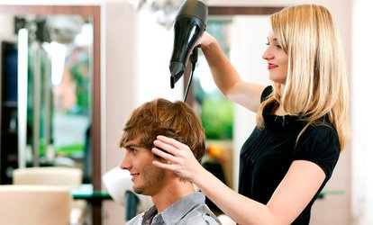 image for One Men's Haircut and Neck <strong>Shave</strong> with Hot Steam Towel at Lords & Ladies Salon and Barber Spa (52% Off)