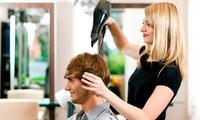 Mens Dry Cut or Wash, Cut and Blow-Dry at Hair Bar (Up to 40% Off*)