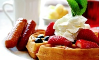 Waffle or Crêpe with Hot Drink for Up to Four at Velvet Desserts (Up to 57% Off)