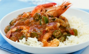 Marcela's Creole Cookery: $49 for a New Orleans Creole and Cajun Participatory Cooking Class for Two at Marcela's Creole Cookery ($110 Value)