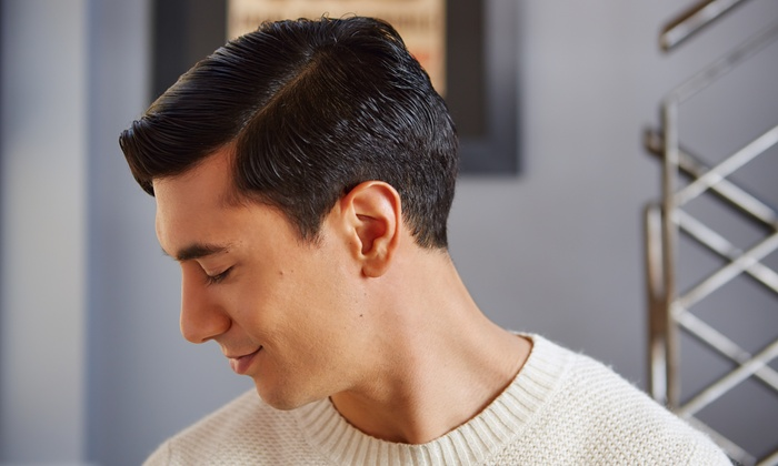 MANE on Madison - Wyckoff: 3 Blowout Packages with Deep-Conditioning Treatment or 3 Men's Haircuts at Mane on Madison (Up to 51% Off)