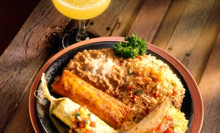Mexican Meal for Two or Four at Blue Agave Tequila Bar & Restaurant (Up to 44% Off). Four Options Available.