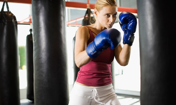 Big Time Boxing Fitness - Carpentersville: Two Weeks of Unlimited Boxing and Kickboxing or Month of Unlimited Boxing at Big Time Boxing Fitness (76% Off)