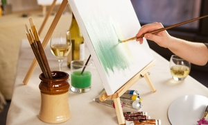 The Velvet House: BYOB Painting Class for One, Two, or Four at The Velvet House (Up to 48% Off)