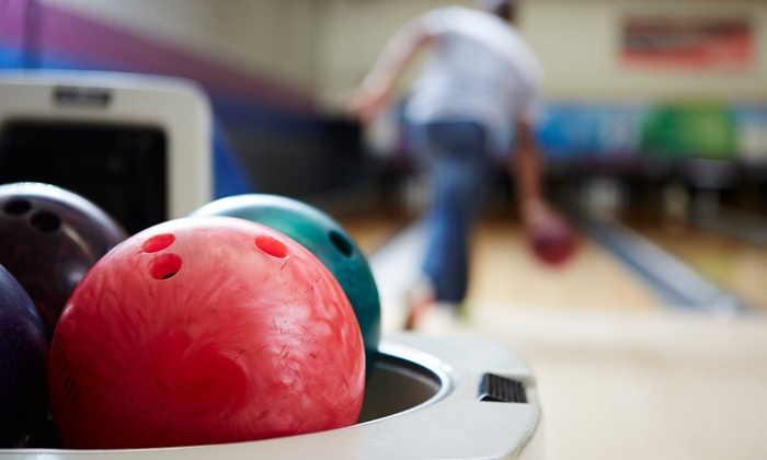 Burnham Bowl - West Allis: Bowling with Shoes and Food Credit at Burnham Bowl (Up to 47% Off). Three Options Available.