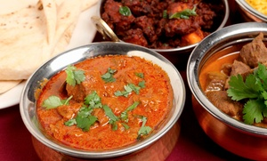 Taste Buds of India: Indian Lunch or Dinner Cuisine for Two at Taste Buds of India (Up to 47% Off)