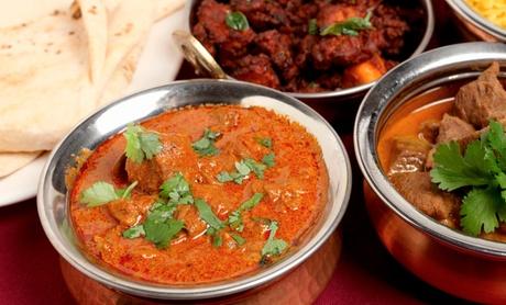 Menú para 2 o 4 con aperitivo, entrantes, principal, arroz basmati, bebida y chupito desde 19,90 € en Sher-e-Punjab