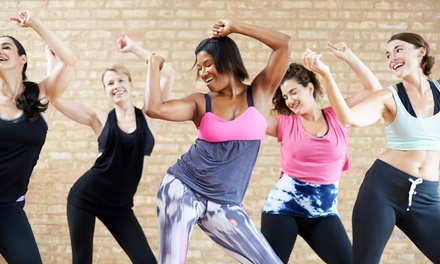Four or Eight  Zumba or Barre Fitness Classes at Barre & Zumba Fitness(Up to 60% Off)