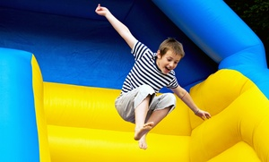 Kids On The Moon: Open Bounce or Bounce Party Package at Kids On The Moon (Up to 44% Off). Three Options Available.