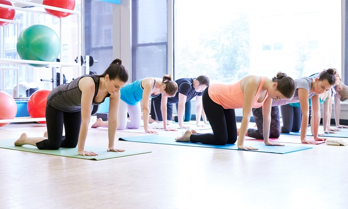 Dana Hot Yoga - Multiple Locations: 5 or 10 Hot-Yoga Classes or One Month of Unlimited Classes at Dana Hot Yoga (Up to 76% Off)