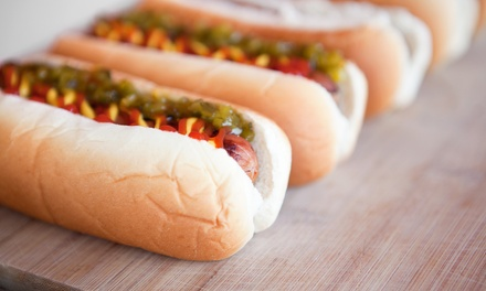 $12 for Two Groupons, Each Good for $10 Worth of Food at Chef's Dog House ($20 Total Value)