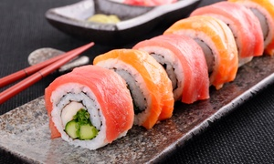 Wasabi Japanese Steak House: $18 for $30 Worth of Japanese Cuisine for Two or More at Dinner at Wasabi Japanese Steak House