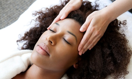 Indian Head Massage with Optional Facial and Back, Neck and Shoulder Massage at Sculptures Birmingham
