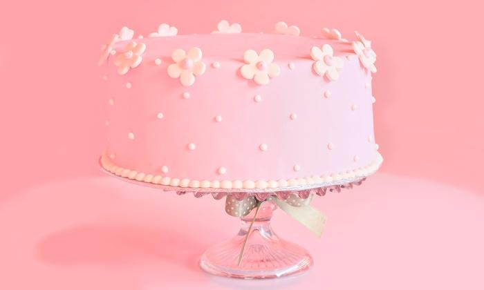 Fizz Bakery - Stonewood: Custom Cake or One Dozen Cupcakes at Fizz Bakery (Up to 50%Off)