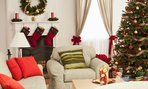 The Christmas Stop Shop: Trees, Wreaths, Garlands, and More at The Christmas Stop Shop (50% Off). Two Options Available.