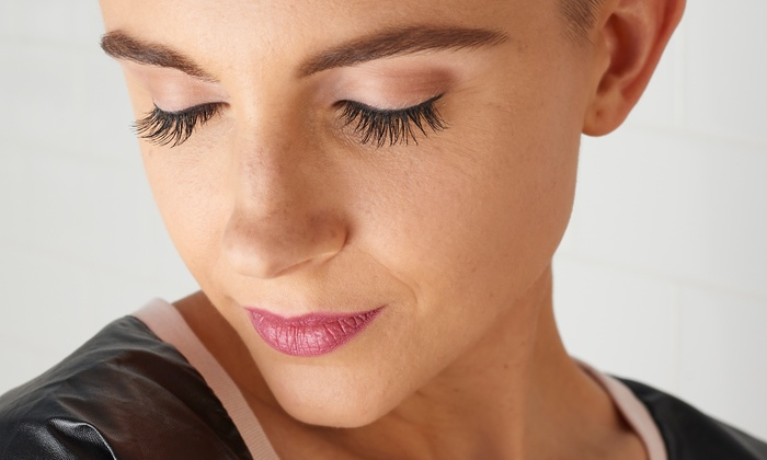 Maple Leaf Hair Co. - Maple Leaf Hair Co.: Eyebrow Contouring Session or Mini Makeover Pamper Package at Maple Leaf Hair Co. (Up to 56% Off)