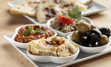 Menu turco-libanese da asporto