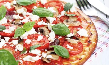 Menú para 2 para llevar o en local con entrante, pizza, postre y bebida o Lambrusco desde 19,95€ en Pizzería Davinci