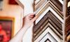Frames + - Frames Plus (Located Behind Carrabba's): $25 for $50 or $50 for $100 Towards Custom Framing at Frames + (Up to 55% Off)
