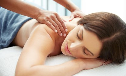 60-Minute Swedish or Deep Firm Pressure <strong>Full Body Massage</strong> from Valerie Biegon, LMT at A'la Mod (Up to 55% Off)