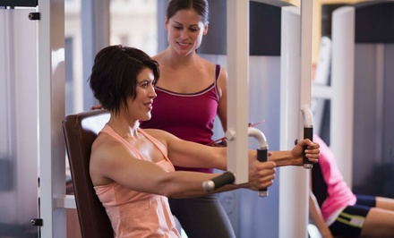 8 or 13 Group Training Sessions Plus 2 Nutrition Sessions at Get In Shape For Women (66% Off)