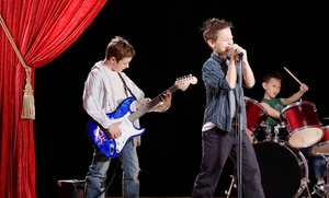School of Rock - Orangeburg: $49 for One month of Weekly 1 Hour Music Instruction Sessions for Ages 5-7 ($100 Value)