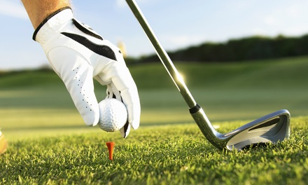 18 Holes of Golf Including Range Balls for One, Two, or Four at Sunset Landing Golf Club (Up to 54% Off)