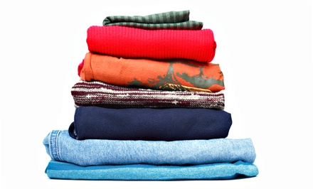 15 or 30 Pounds of Wash, Dry and Fold Laundry Services at The Laundry Room on the Ave (Up to 52% Off)