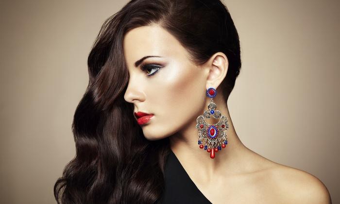 Blodry Bar, Nail Bar, & Make-Up Bar - Torrance : Red Carpet Makeup Package or Pampering Package at Blodry Bar, Nail Bar, and Make-Up Bar (Up to 53% Off)