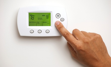 $25 for 12-Point Inspection and Cleaning for AC Unit or Furnace from Sanders Services ($99 Value)