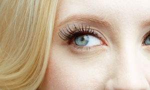 Pink Line Spa: Full Set of Individual Eyelash Extensions with Optional 30-Minute Facial at Pink Line Spa