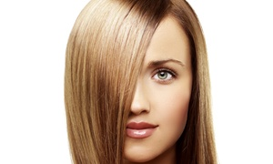 Salon Beautique: $139 for Brazilian Keratin Straightening with Style Cut and Conditioning Mask at Salon Beautique (Up to $260 Value)