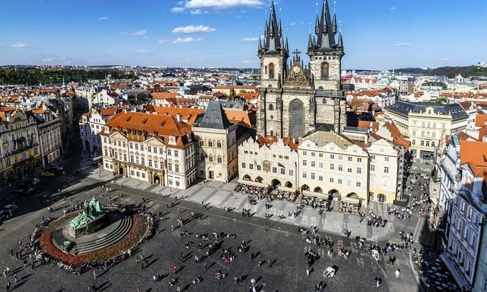 4 prague with flights at ste clear sky holidays for Designhotel elephant praha 1 tschechische republik