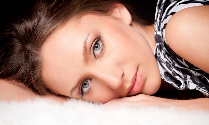 Mazna Hair & Skin Care - Lake Ridge: One or Two Anti-Aging Facial Package or Glycolic Chemical Peel at Mazna Hair & Skin Care Salon (Up to 61% Off)
