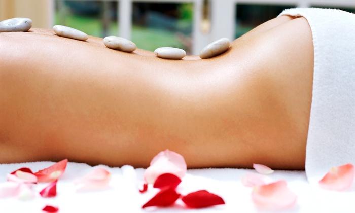 Namaste Pure Design Training Studio - Downtown: 60-Minute Chakra-Balancing Massage or Facial at Namaste Aveda Pure Design Salons (Up to 44% Off)
