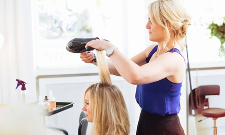 Style and Cut with Conditioning or Color, or Brazilian Blowout at Califorever Hair Studio (Up to 60% Off) e143345e-242d-4b47-8d33-5ceae59434bd