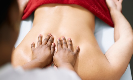 53% Off at Giving Back Massage Therapy