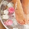 Klassische Fußpflege mit Massage