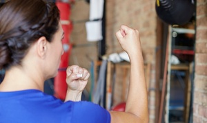 Bam Bam Martial Arts: Month of Unlimited Classes or 10 Muay Thai, BJJ, or MMA Classes at Bam Bam Martial Arts (Up to 82% Off)