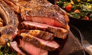 Las Brasas: 1 ou 2 côtes de bœuf d'1.2 kg avec frites maison et salade offerte pour 2 ou 4 dès 31,90 € au restaurant Las Brasas