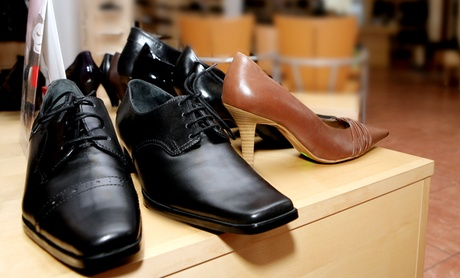 Shoe or Heel Repair or Shoe Polishing at Shoe Repair Butler (Up to 52% Off). Two Options Available. aaf7eb0b-4148-7d80-ba12-d67eed8e76c4