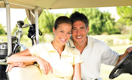 Round of Golf Including Cart Rental for 2 or 4 at River Wilds Golf Club (Up to 35% Off). Four Options Available.